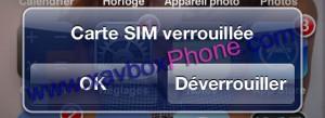 deverrouillage iphone
