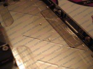 gouttes d'eau dans iphone