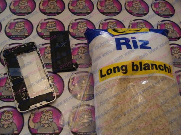 iphone dans du riz